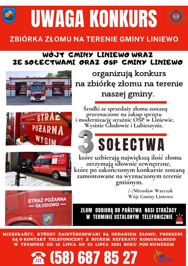 FB/@Liniewo - Liniewo - Gmina przyjazna Mieszkańcom i Gospodarce